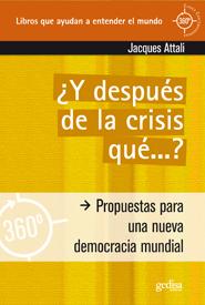 ¿Y después de la crisis qué...?